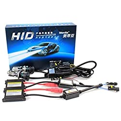 See Merdia H4 55W 8000K 2800LM HID Xenon Lights with Ballasts Kit (AC 9~16V) Details