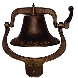 Antique Style Cast Iron School Bell #2