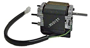 Broan S80U, S80LU Replacement Vent Fan Motor # 99080448, 1.1 amps, 3000 RPM, 120 volts by nutone Broan