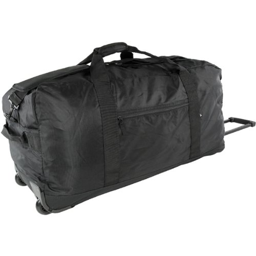 Eurotravel Rollenreisetasche schwarz 2012-G12126