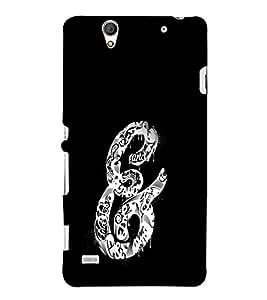 EPICCASE And Symbol Case Mobile Back Case Cover For Sony Xperia C4 (Designer Case)