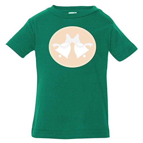 Inktastic Baby Boys' Wedding Bells (Linen) Baby T-Shirt 12 Months Kelly Green