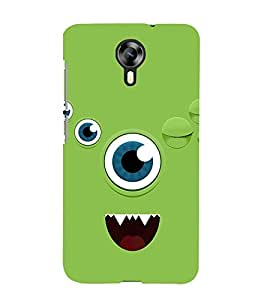 Animated Eye Cute Fashion 3D Hard Polycarbonate Designer Back Case Cover for Micromax Canvas Xpress 2 E313