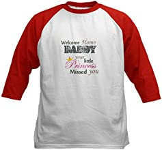 CafePress Kids Baseball Jersey - Welcome Home Daddy Princess Kids Baseball Jersey