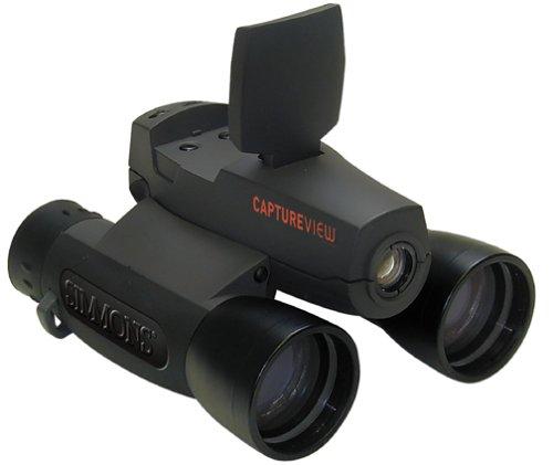 Simmons 822218 Captureview 8X42 2.0 Megapixels W/Lcd (Black/Gray)