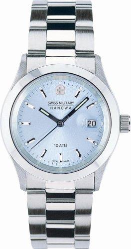 SWISS MILITARY (スイスミリタリー) 腕時計 ELEGANT ML/163 ライトブルー メンズ 35mm