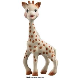 Vulli Sophie the Giraffe Teether 苏菲长颈鹿婴儿牙胶玩具$16.66,