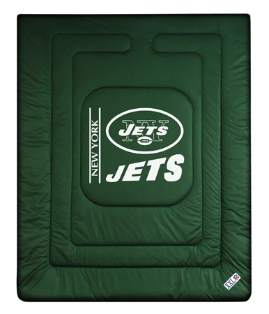 Sports Coverage New York Jets Jersey Comforter