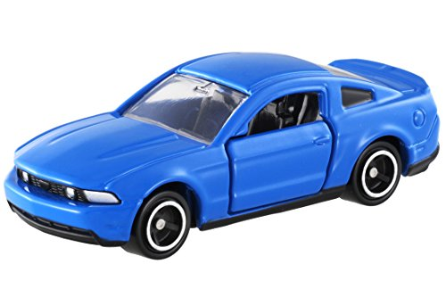 Takara Tomy Tomica No.60 Ford Mustang GT V8 Scale 1 : 67 Blue Color - 1