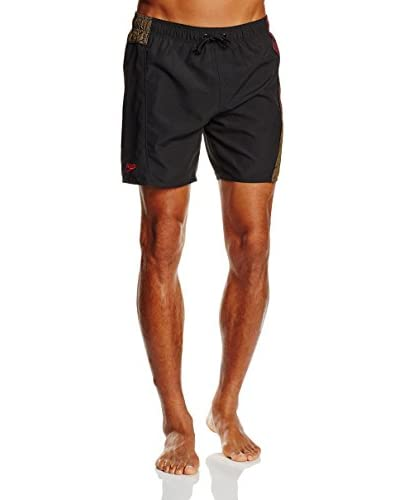 SPEEDO Shorts da Bagno Sport Prt Spl 16 Wsht Am [Blu Scuro/Verde]