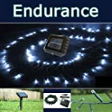 PowerBee � Endurance Solar Fairy Lights 120 Quality Superbright LED's Multi Function Indoor / Outdoor Garden, Party, Tree Lights for all year round use including winterby PowerBee Ltd
