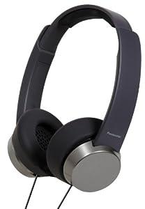 Panasonic Fashionable On-Ear Stereo Headphones - Black
