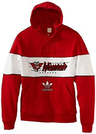 NCAA Wisconsin Badgers Originals BTC Pullover Hood by adidas