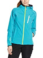 Peak Mountain Chaqueta Soft Shell Anso (Azul Royal)