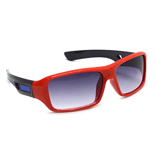 Red Flirt Eyewear Plastic Red Non-Polarized Kids Sunglasses (Pink)