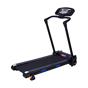 Soozier 1100W Portable Electric Folding Treadmill Running
