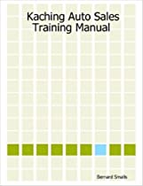 Spiral-bound Book] ✓ Kaching Auto Sales Training Manual PDF by ...