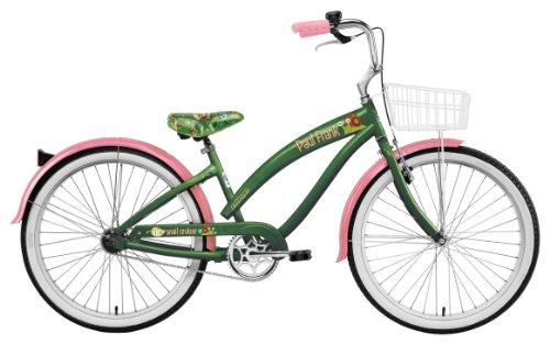 Nirve Women's Paul Frank Vic the Snail 1-Speed Co-Branded Bike (Green, 16-Inch Frame - 26-Inch Wheels)
