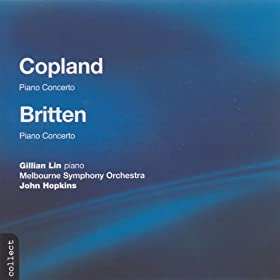 Copland: Piano Concerto / Britten: Piano Concerto in D Major