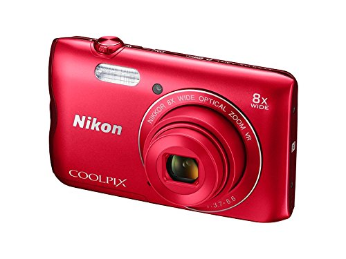 Nikon-Coolpix-A300-201MP-Point-and-Shoot-Camera-with-4x-Optical-Zoom-Red