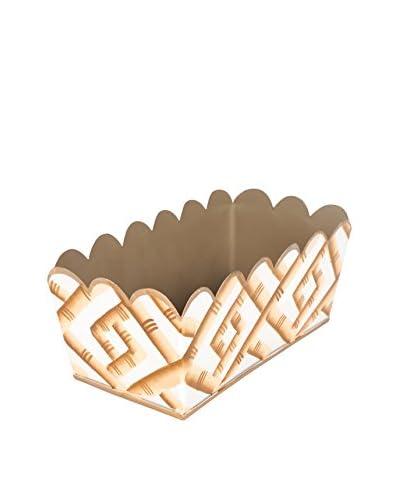 Jayes Bamboo Desk Caddy, Cream