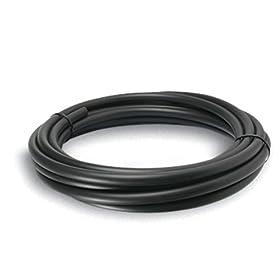Sunterra 301220 1/2-Inch PVC Tubing for Water Gardening - 20-Foot Roll, Black