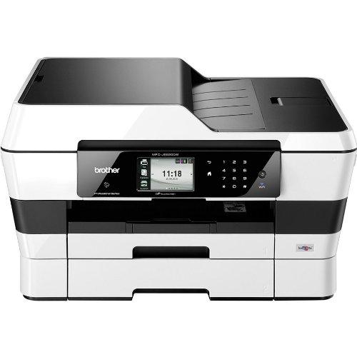 Brother MFC-J6920DW Stampante Multifunzione a Colori Full A3 con Fax, Scanner e ADF, Doppio Cassetto Carta, Bianco