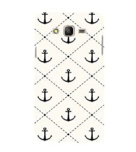 EPICCASE Anchor case Mobile Back Case Cover For Samsung Galaxy E7 (Designer Case)