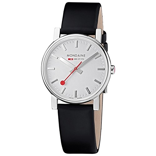 Mondaine Women's Watch black/silver A658.30300.18SBB