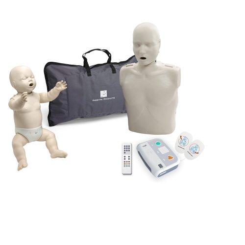 Beginner Instructor Package - Prestan Manikins w/ Monitor - AED Practi Trainer XFT (Preston Manikin compare prices)