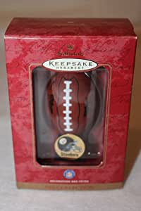 HALLMARK KEEPSAKE ORNAMENT NFL COLLECTION PITTSBURGH STEELERS