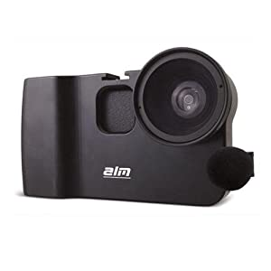 ALM mCAMLITE Stabilizer Mount with Video Lens and Mic for iPhone 4 and 4S Black