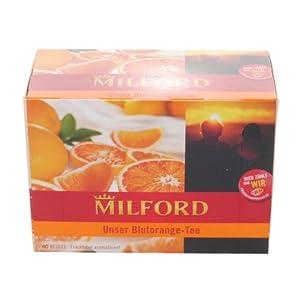 Milford Tea GmbH & Co. KG: Blutorange mit Vitamin C - 1 Packung à 40 Beutel