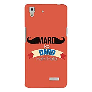 ColourCrust Oppo R7 Mobile Phone Back Cover With Mard Ko Dard Nahi Hota Quirky - Durable Matte Finish Hard Plastic Slim Case