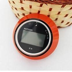 Spin Control Digital LCD Kitchen Timer Magnetic 99 Min Cooking Study Timer Reminder (Orange)