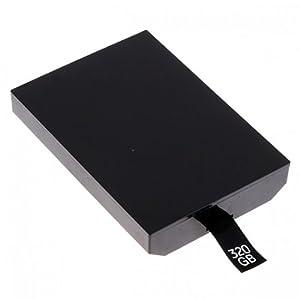 KASOTEK XBOX 360 Slim 320GB Hard Drive  BlackCustomer review and more information