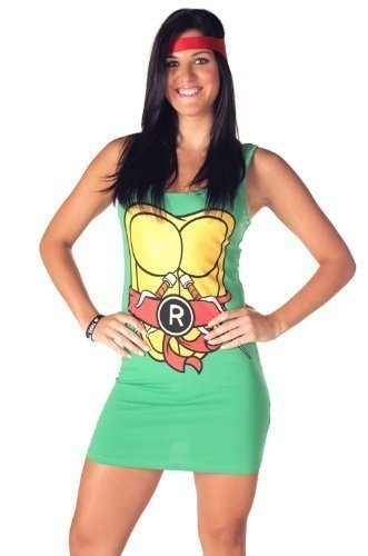 Teenage Mutant Ninja Turtles Dress TMNT Raphael - S to XL