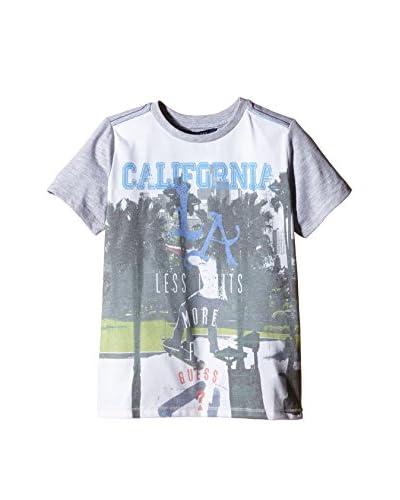 Guess Camiseta Manga Corta Ss Gris Jaspeado