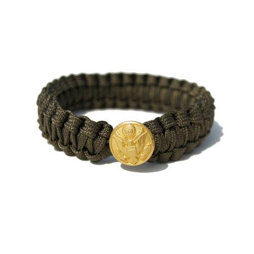 Peace Cords Bracelet - Army; COLOR: OLIVE; SIZE: XS