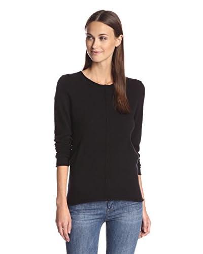 Kier & J Women's Crewneck Pocket Sweater