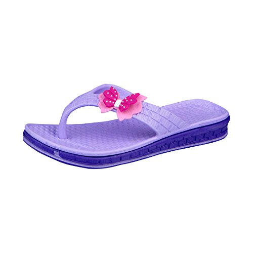 Lancer Purple Women's Flip Flops 4 UK  available at amazon for Rs.289