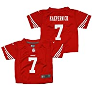 San Francisco 49ers Colin Kaepernick #7 NFL Infant's Red Nike Game Day Jersey