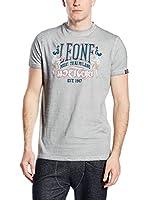 Leone 1947 Camiseta Manga Corta (Gris Perla)
