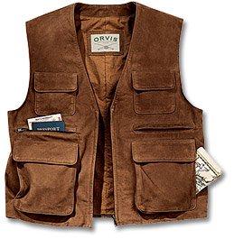 Ultimate Leather Travel Vest - Buy Ultimate Leather Travel Vest - Purchase Ultimate Leather Travel Vest (Orvis, Orvis Vests, Orvis Mens Vests, Apparel, Departments, Men, Outerwear, Mens Outerwear, Vests, Mens Vests)