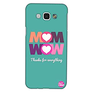Mothers Day Gifts - Designer Case Cover for Samsung Galaxy A8 Nutcase- MOM WOW