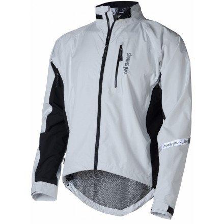 Showers Pass Double Century EX Jacket - Size: LARGE - WHITE (Showers Pass Double Century compare prices)