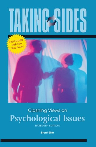 Taking Sides: Clashing Views on Psychological Issues,...