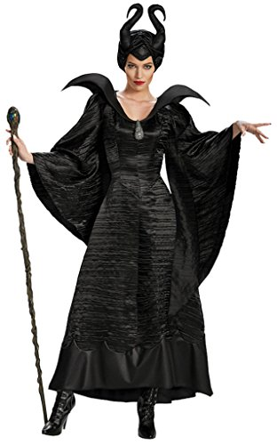 Disguise Womens Disney Maleficent Black Christening Gown Deluxe Fancy Costume