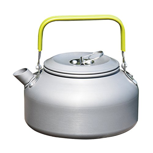 OuterEQ 0.8L Outdoor Camping Hiking Kettle Coffee Pot Portable Teapot (Tea Kettles compare prices)