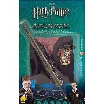 pas cher kit harry potter avec baguette magique costume de d guisement enfant 7 10 ans. Black Bedroom Furniture Sets. Home Design Ideas